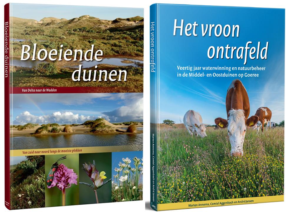 Twee boeken over de duinen met korting te bestellen